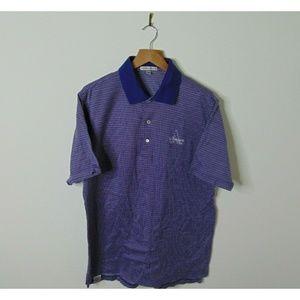Peter Millar Large Polo Shirt Short Sleeve Golf